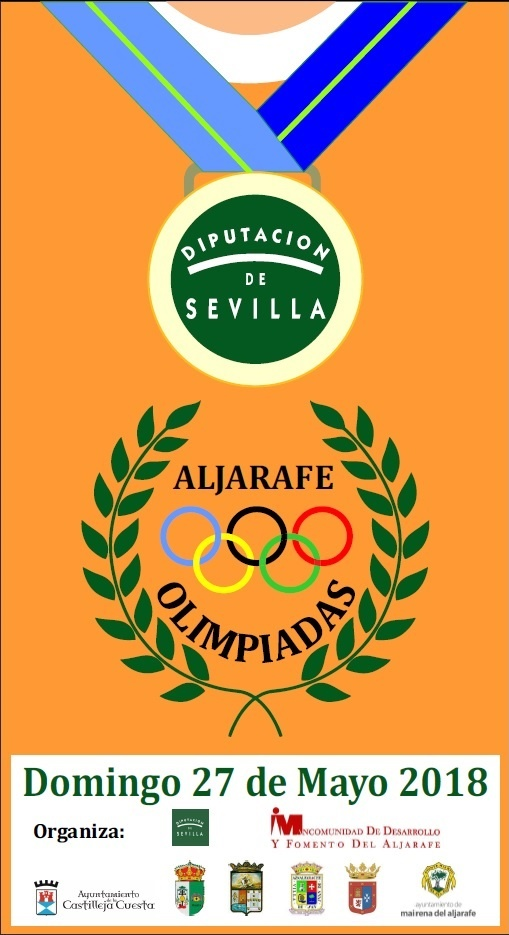 CARTEL OLIMPIADAS DOMINGO 27 MAYO